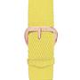 Bijoux - Bracelet de montre Tressé Jaune - MILLOW PARIS