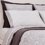 Bed linens - Jacquard Paisley 600 TC Duvet Cover and Luxury Sheet Sets - VIDDA ROYALLE