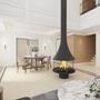 Unique pieces - Central wood fireplace MARINA 993  - JC BORDELET