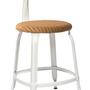 Chaises pour collectivités - Chaise Nicolle® H45cm Loom et Métal - CHAISES NICOLLE