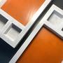 Objets design - Beelakey - vide-poches en cuir et béton - BLACKBETON
