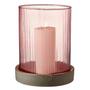 Vases - BITZ Hurricane w. LED candle 24 cm - BITZ