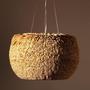 Hanging lights - Sedge Fibre Pendant  - SOMOSDESIGN