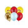Decorative objects - Balloons 30cm, Happy Birthday, mix - PARTYDECO