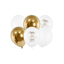 Decorative objects - Balloons 30cm, Happy Birthday To You, mix - PARTYDECO