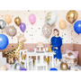 Objets de décoration - Ballon Happy Birthday To You, 35cm, blanc - PARTYDECO