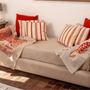 Decorative objects - Furnishing Sheet 100% linen |Hand printed - COLORI DEL SOLE