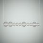 Ceiling lights - Bonbon Linear Large Smoke Glass - ATOLYE STORE