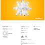 Ceiling lights - Bonbon Ceiling Large White Glass - ATOLYE STORE
