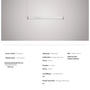 Ceiling lights - Acrylic Linear - ATOLYE STORE