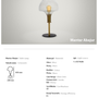 Table lamps - Mushroom Glass Table Lamp - ATOLYE STORE