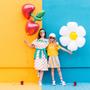 Objets de décoration - Ballon d'aluminium Cerise, 88x73cm, mélange - PARTYDECO