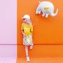 Decorative objects - Foil Balloon Elephant, 61x46cm, mix - PARTYDECO