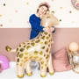 Decorative objects - Foil balloon Giraffe, 80x102cm, mix - PARTYDECO