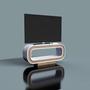 Mobilier et rangements pour bureau - Bureau TV - LUNE DESIGN