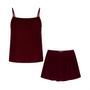 Homewear - Pyjama court en velours   Palissandre - THE ANNAM HOUSE
