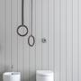 Porte-serviettes - Porte-serviettes suspendu au plafond multifonctionnel   - EVER LIFE DESIGN