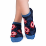 Chaussettes - Socquettes Bambou Coquelicots - PIRIN HILL