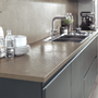 Kitchen splash backs - Fokos Roccia coverings - LAMINAM FRANCE