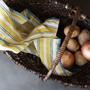 Linge d'office - Serviette de cuisine 100% lin - LINO E LINA