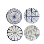 Platter and bowls - Exhibition of our hand-painted ceramic products - CERASELLA CERAMICHE
