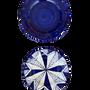 Céramique -   Ensemble de quatre assiettes à dîner en céramique peintes à la main, diamètre 26 cm - CERASELLA CERAMICHE