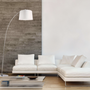 Decorative objects - ARC floor lamp - ALUMINOR