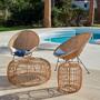 Loungechairs for hospitalities & contracts - ARMCHAIR OVALO - CRISAL DECORACIÓN