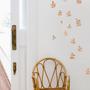 Autres décorations murales - Watercolor irregular leaves wall sticker - TRESXICS