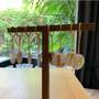 Travel accessories - Letter Stone Keychain - TECLA BARCELONA