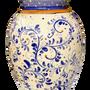 Vases - Beautiful hand-painted ceramic vase/umbrella stand in the Vietri style - CERASELLA CERAMICHE
