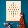 Decorative objects - Multiple Alphabet Posters - PAPPUS ÉDITIONS