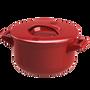 Stew pots - Ceraglaze Casserole (24cm,Red) - JIA