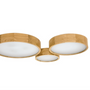 Ceiling lights - RONDO WOOD ceiling lamp - LUXCAMBRA