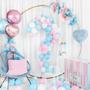 Objets de décoration - Ballon en aluminium Mom to Be, 35 cm, rose - PARTYDECO