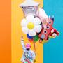 Decorative objects -  Foil balloon Rocket, 44x115cm, mix - PARTYDECO