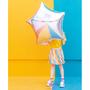 Objets de décoration - Ballon en aluminium Star, 70 cm, argent - PARTYDECO
