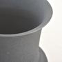 Vases - Large Black Lava Vase - VALVANUZ CERAMICS
