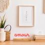 """Objets design - LAMPE D'AMBIANCE DESIGN """"AMOUR"""" - PIXMATIK"""