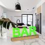"Objets design - LAMPE D'AMBIANCE DESIGN ""BAR"" - PIXMATIK"