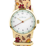 Bijoux - Bracelet de montre Fleurs d'automne - MILLOW PARIS