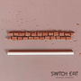 Épicerie fine - Pailles comestibles, compostables et biodégradables saveur Chocolat - SWITCH EAT