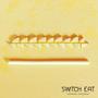 Épicerie fine - Pailles comestibles, compostables et biodégradables saveur Gingembre - SWITCH EAT
