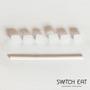 Épicerie fine - Pailles comestibles, compostables et biodégradables saveur Neutre - SWITCH EAT
