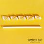 Delicatessen - Edible, compostable and biodegradable Straws Lemon - SWITCH EAT
