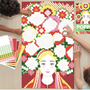 Affiches - Poster créatif + 1600 stickers FLOWERS  - POPPIK