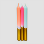 Design objects - Dip Dye Neon Candles Xmas - PINK STORIES