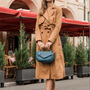Bags and totes - Leather bag worn by hand or crossbody BRUNY - .KATE LEE