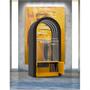 Enceintes et radios - Jukebox Orphéau   Série Arche   Orange - JUKEBOX ORPHÉAU