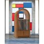 Armoires - Jukebox Orphéau | Série Arche | Noyer - JUKEBOX ORPHÉAU
